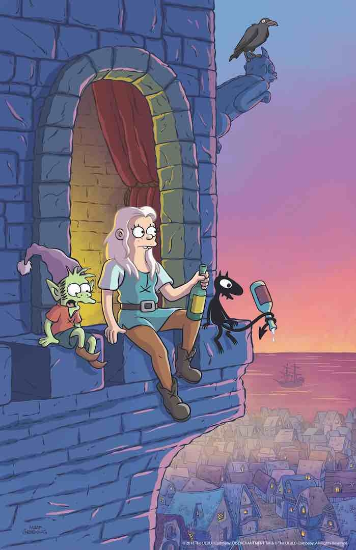 disenchantment release date