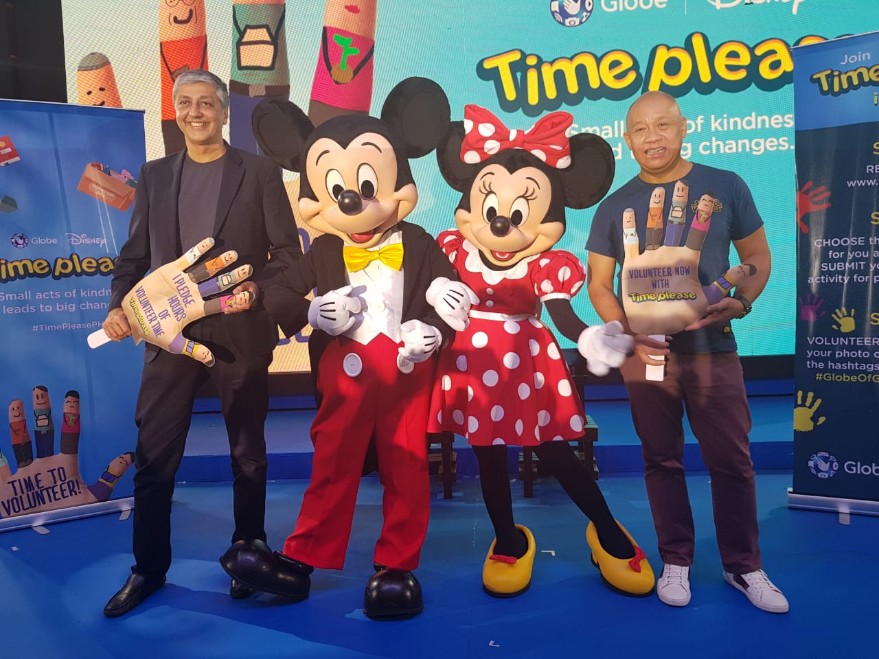 Globe Time Please: Globe and Disney's Launches Nationwide Volunteering Program