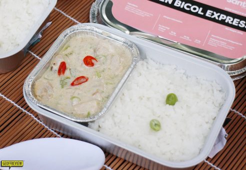 does air asia give food