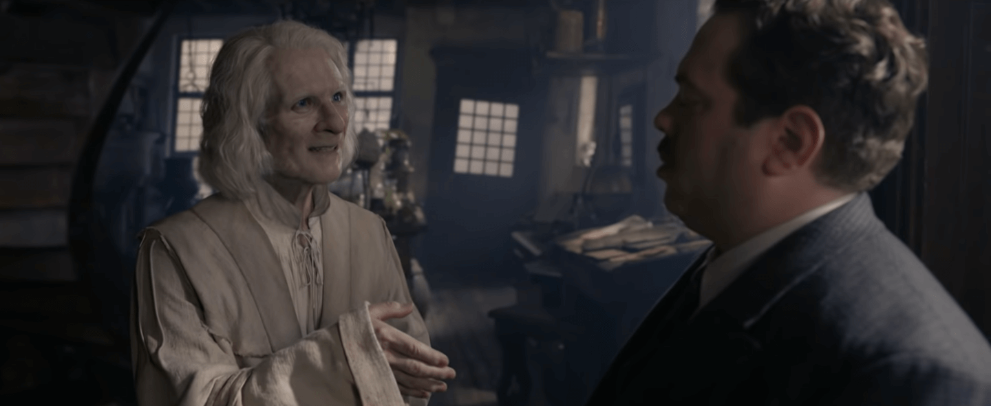 fantastic beasts the crimes of grindelwald nicolas flamel