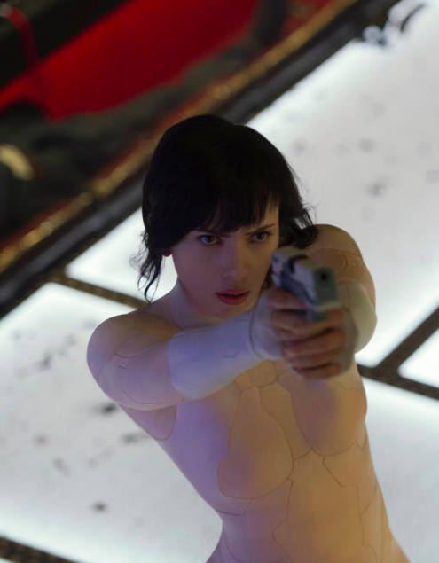 ghost in the shell cast
