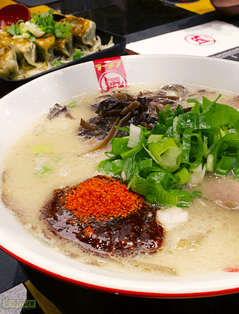 Ramen Nagi Review: Try the Best Seller Butao King! - Geoffreview