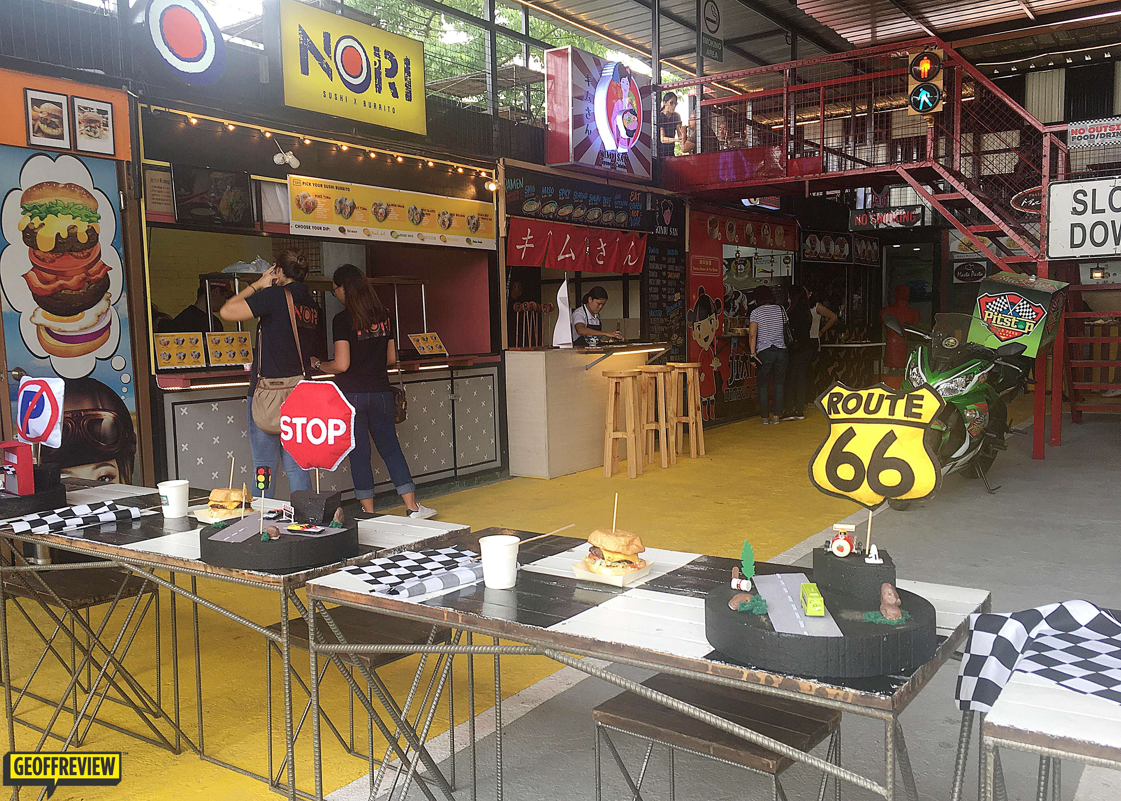 pit stop food park quezon city, metro manila
