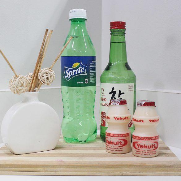 how to make yakult soju recipe