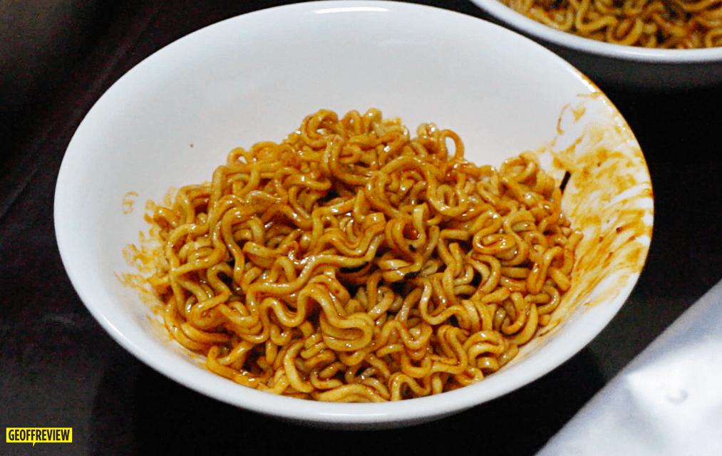 korean spciy noodles challenge