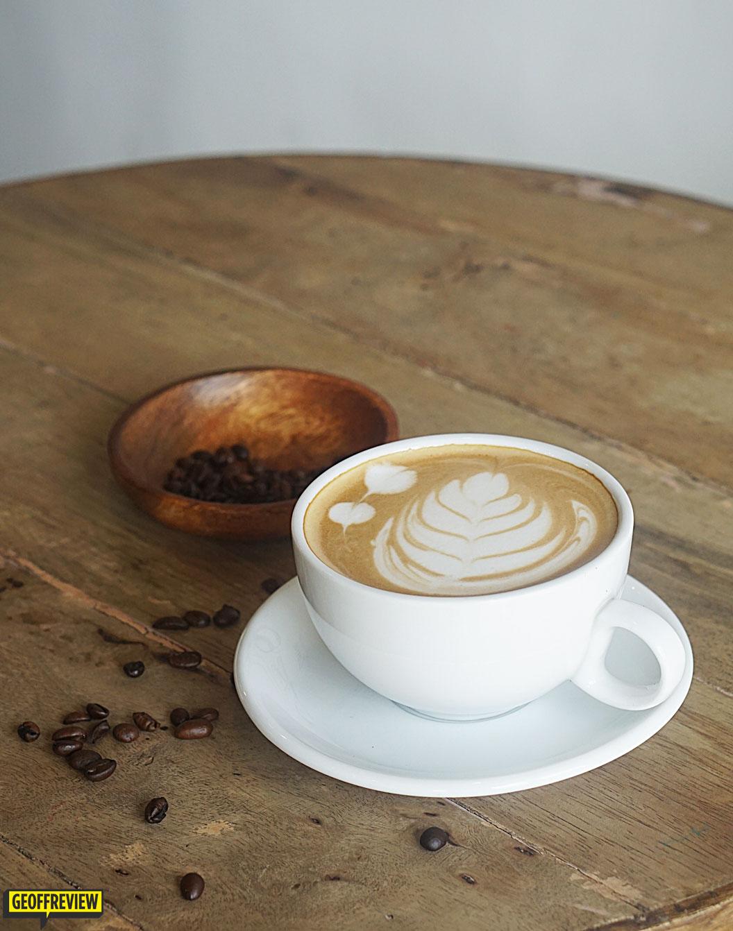 kape brew review coffee shop