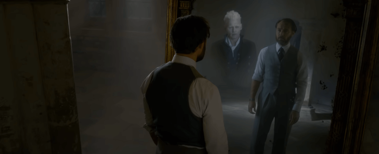 fantastic beasts the crimes of grindelwald mirror of erised