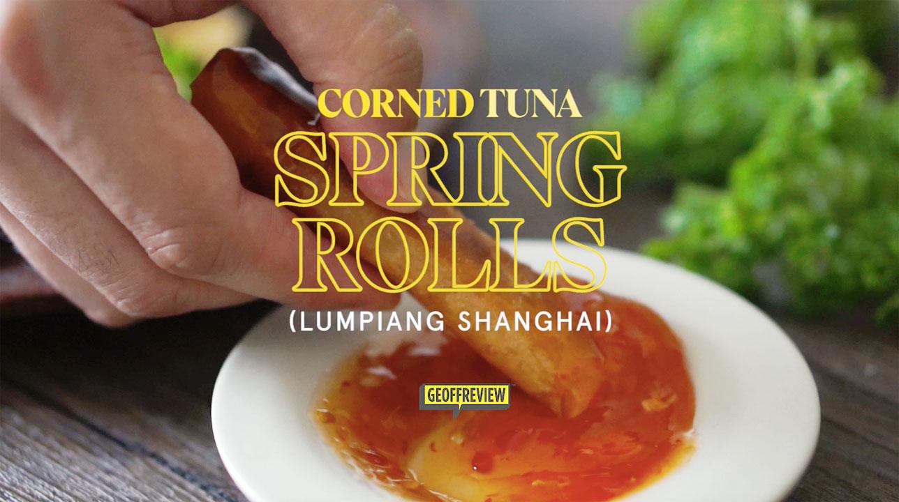 canned tuna spring rolls recipe san marino corned tuna recipes sarap home