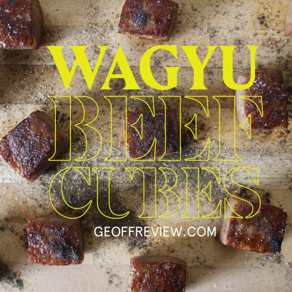 HOW TO COOK WAGYU CUBES