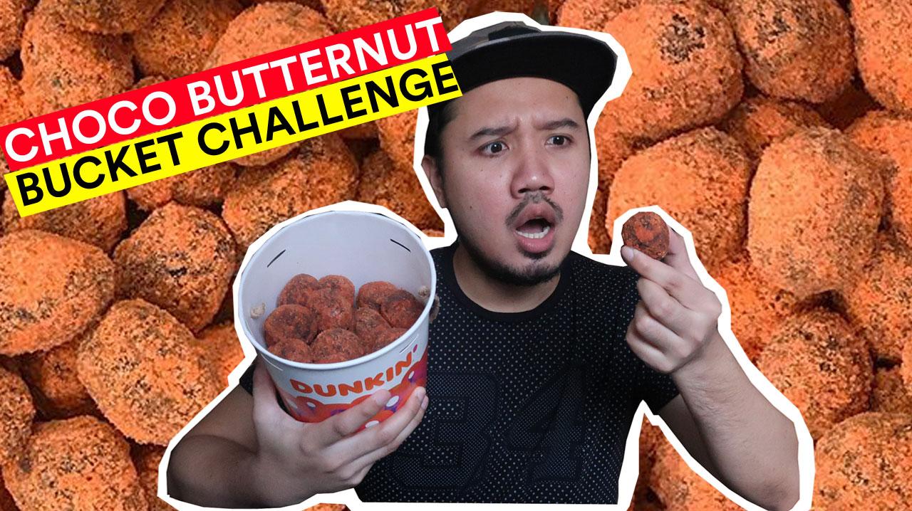 CHOCO BUTTERNUT BUCKET DUNKING DONUT
