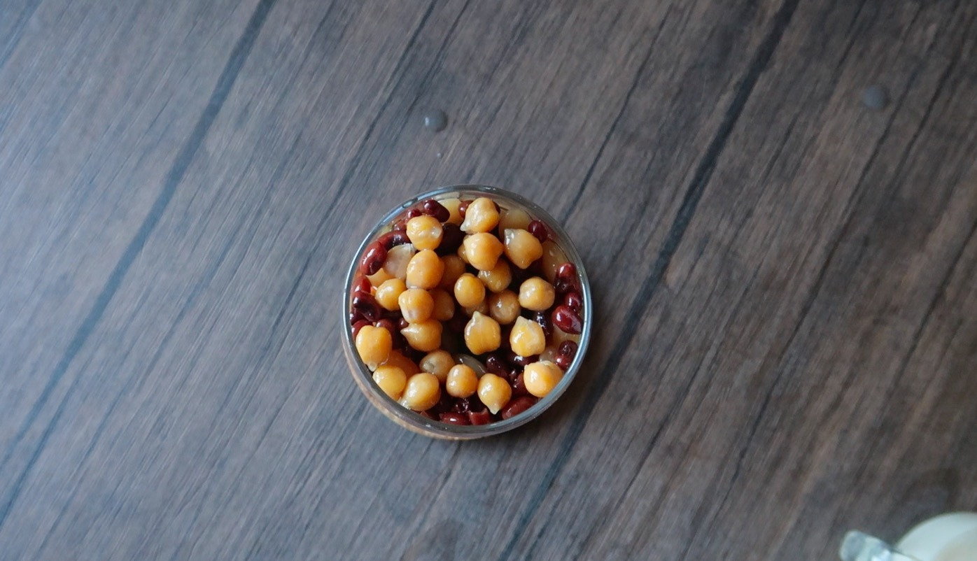 sweetened chickpeas garbanzos recipe