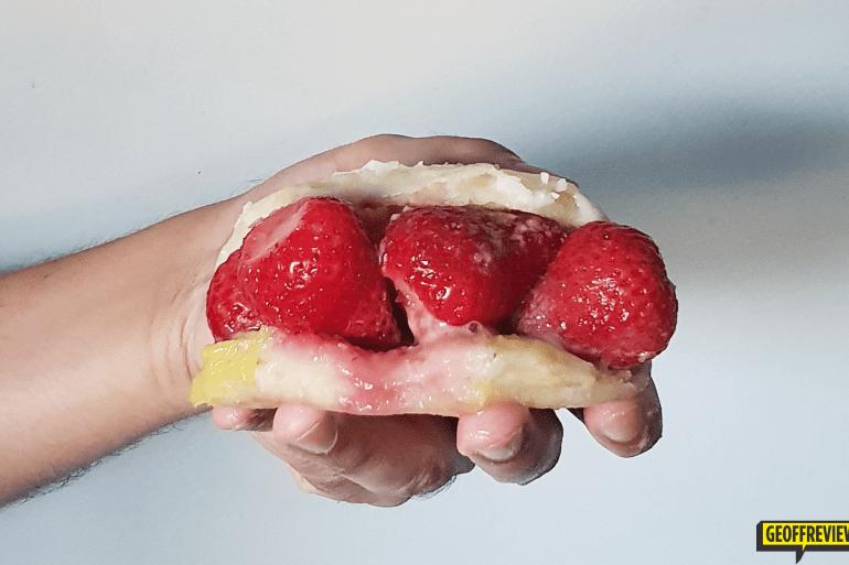 flour pot manila strawberry doughnuts
