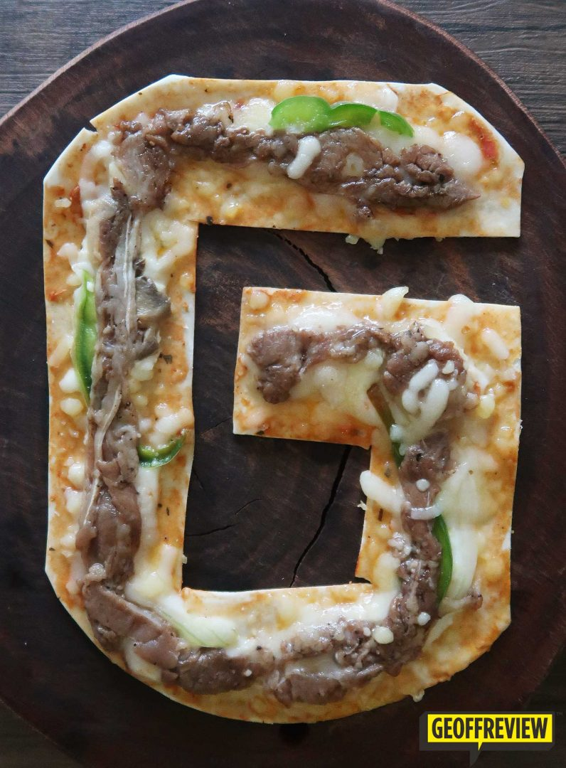 Pizza X Personalized Pizza Letters