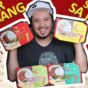 self-heating rice meals