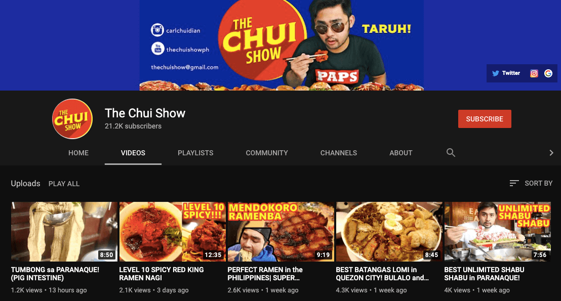 filipino mukbang vloggers the chui show