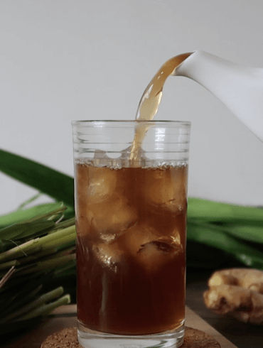 How to Make Lemongrass Tea Recipe - w- Pandan and Ginger (Loaded with Health Benefits!)