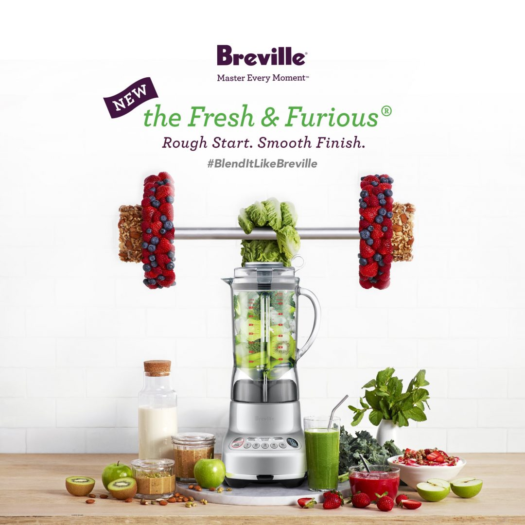 breville fresh and furious blender