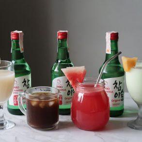 jinro soju 4 ways